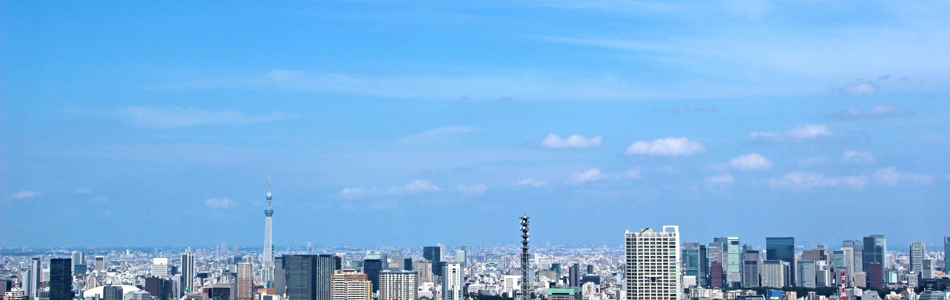 東京の街並み写真